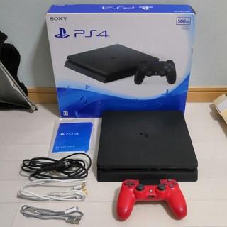 プレイステーション4(PlayStation4)のSONY PS4 本体 500GB CUH-2000A B01 ジェットブラック(家庭用ゲーム機本体)
