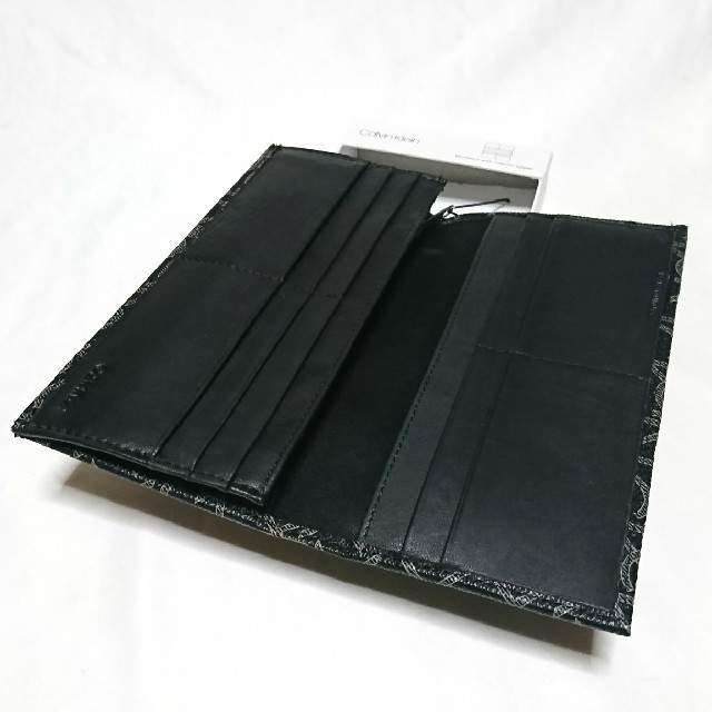 Calvin Klein(カルバンクライン)のカルバンクライン 長財布 79467 ブラック メンズのファッション小物(長財布)の商品写真