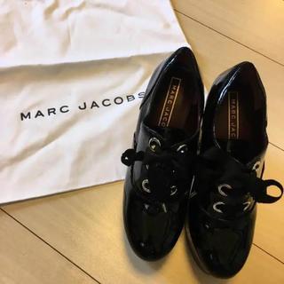 マークジェイコブス(MARC JACOBS)のMARC JACOBS チャンキーヒール 靴(ローファー/革靴)