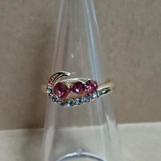 ピンク ファションリング 02(リング(指輪))