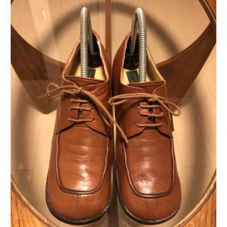 バークレー(BARCLAY)の5回程度着用/定価約2万円【BARCLAY バークレー】本革 Uチップ(ローファー/革靴)