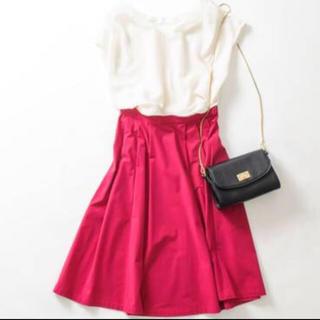 ストラ(Stola.)のstola.♡綺麗色スカート(ひざ丈スカート)