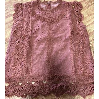 アンドクチュール(And Couture)のアンドクチュール(シャツ/ブラウス(半袖/袖なし))
