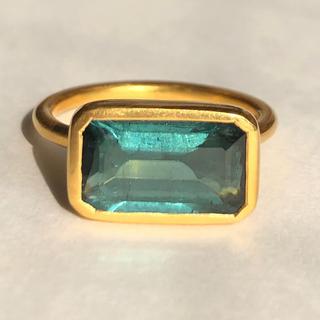 ブルートルマリン k18 ゴールド リング検索 マリーエレーヌ ジェムパレス(リング(指輪))