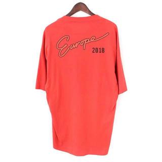 バレンシアガ(Balenciaga)の【balenciaga Europe 2018Tシャツ 120%正規品】(Tシャツ/カットソー(半袖/袖なし))