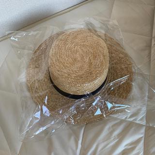 レイビームス(Ray BEAMS)のストローカンカン帽(麦わら帽子/ストローハット)