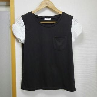 エティエンヌアイグナー(Etienne Aigner's)のEtienne レース Tシャツ(Tシャツ(半袖/袖なし))