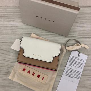 マルニ(Marni)の新品 MARNI マルニ 三つ折り財布(財布)