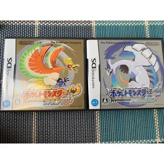 ニンテンドー3DS(ニンテンドー3DS)のポケモン ハートゴールドソウルシルバー(家庭用ゲームソフト)