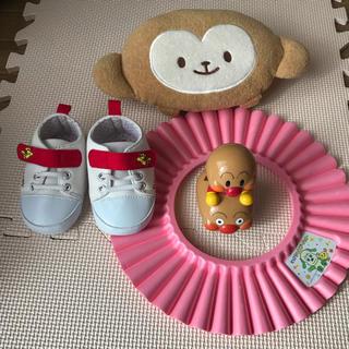 スヌーピー(SNOOPY)の赤ちゃん ルームシューズシャンプーハット 授乳まくら アンパンマン スヌーピー(その他)
