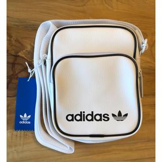 アディダス(adidas)の【新品】adidas オリジナルス ショルダーバック ミニバッグ ホワイト(ショルダーバッグ)