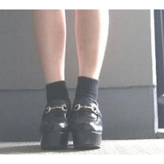 ウィゴー(WEGO)の厚底 ローファー (ローファー/革靴)