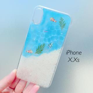 iPhone X.Xs 水面のケース(スマホケース)