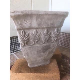 陶器鉢 アンティークスクエア小サイズ(プランター)