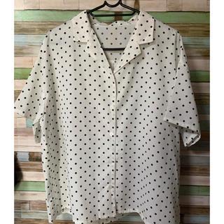 ジーユー(GU)のGU 開襟シャツ (シャツ/ブラウス(半袖/袖なし))