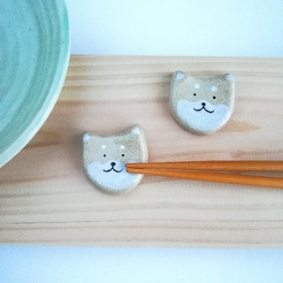 柴犬 箸置きセット(キッチン小物)