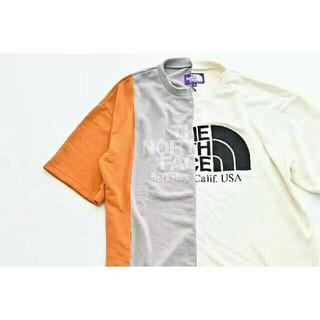 ザノースフェイス(THE NORTH FACE)のTNF アシンメトリー ロゴ ティーサイズ(Tシャツ/カットソー(半袖/袖なし))