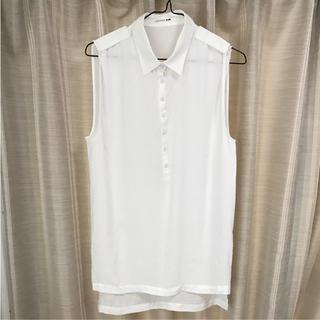 アンダーバーロウ(UNDER BAR RAW.)のノースリーブシャツ(シャツ/ブラウス(半袖/袖なし))