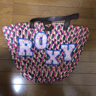 ロキシー(Roxy)のロキシーかごバック(かごバッグ/ストローバッグ)