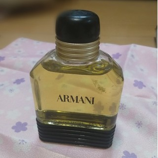 アルマーニ(Armani)の【さっそく最終お値下げ!】【ほぼ未使用】ARMANI 香水【メンズ】(香水(男性用))