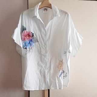 スカラー(ScoLar)のスカラー プリント シャツ(シャツ/ブラウス(半袖/袖なし))
