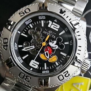 ディズニー(Disney)の新品 送料無料 インビクタ ミッキー invicta ディズニー  限定 自動巻(腕時計(アナログ))