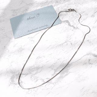 カスタネ(Kastane)の記念SALE中♡stainless snake chain necklace(ネックレス)