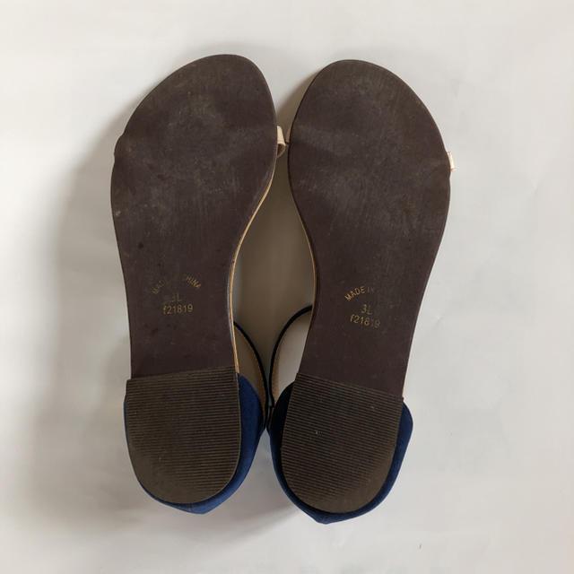らくちんサンダル レディースの靴/シューズ(サンダル)の商品写真