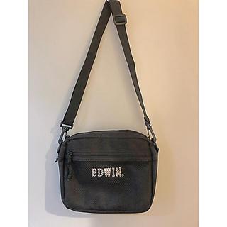 エドウィン(EDWIN)のミニショルダーバック メッシュポケット付き(ショルダーバッグ)