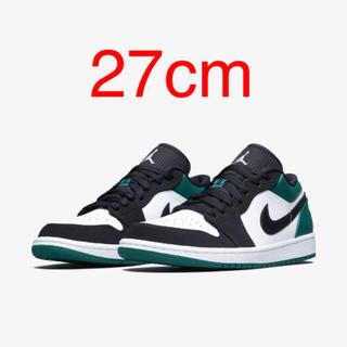 22b67b137ea NIKE AIR JORDAN 1 LOW MISTIC GREEN 27cm