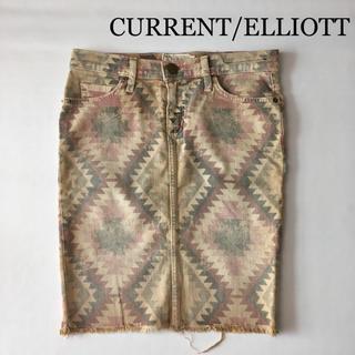 カレントエリオット(Current Elliott)のCURRENT/ELLIOTT カレントエリオット ペンシル スカート(ひざ丈スカート)