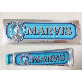 【MARVIS マービス】歯磨き粉 アクアティックミント 85ml(歯磨き粉)