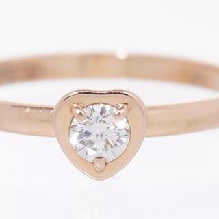 カルティエ(Cartier)のカルティエリング指輪ダイヤPG中古美品#50(リング(指輪))