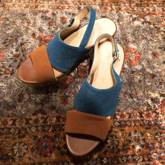 SLY(スライ)のコルクサンダル レディースの靴/シューズ(サンダル)の商品写真