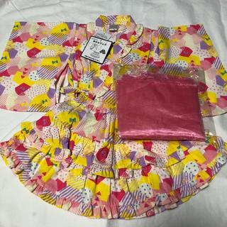 フタフタ(futafuta)のfutafuta 新品 浴衣ドレス 90(甚平/浴衣)