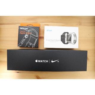 アップルウォッチ(Apple Watch)のApple watch series4 44mm ナイキモデル(腕時計(デジタル))