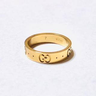 グッチ(Gucci)のGUCCI アイコンリング 7号 ピンクゴールド(リング(指輪))