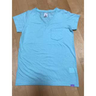 エックスガール(X-girl)のX-GIRL☆TXCCロゴVネックポケットTシャツ(Tシャツ(半袖/袖なし))