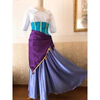 ディズニー(Disney)の❁Dハロ❁ノートルダムの鐘❁エスメラルダ風衣装❁新品(その他ドレス)