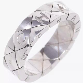 シャネル(CHANEL)のシャネルリング指輪マトラッセリングWG750#18(リング(指輪))