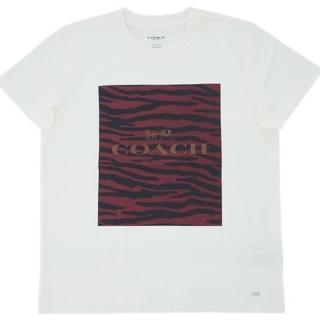 コーチ(COACH)の【COACH★F38567】コーチ限定モデル♪トップス半袖Tシャツ 新品タグ付き(Tシャツ(半袖/袖なし))