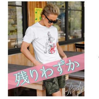 レディー(Rady)のRady プレゼントガールメンズTシャツ(Tシャツ/カットソー(半袖/袖なし))