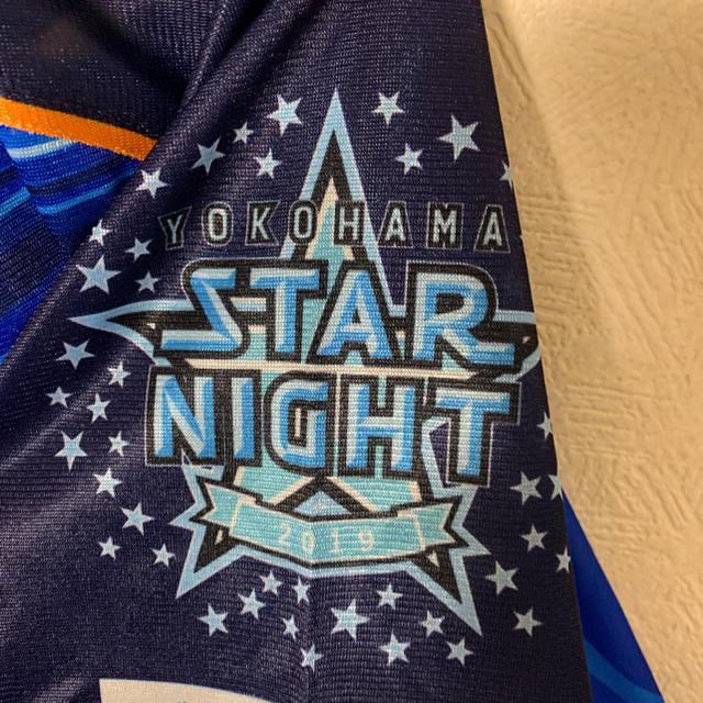 横浜DeNAベイスターズ(ヨコハマディーエヌエーベイスターズ)のスターナイトユニフォーム 2019 スポーツ/アウトドアの野球(ウェア)の商品写真