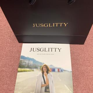ジャスグリッティー(JUSGLITTY)の【JUSGLITTY】ショップ袋&2019AUTUMNカタログ(ショップ袋)