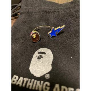 アベイシングエイプ(A BATHING APE)のA BATHING APE  エイプ 指輪 リング(リング(指輪))