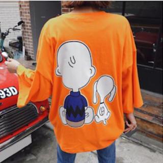 スヌーピー(SNOOPY)のチャーリーブラウン  トップス(Tシャツ(半袖/袖なし))