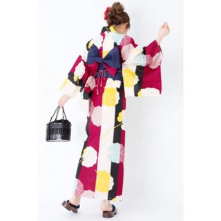 グレイル(GRL)の3点セットふきの葉配色浴衣(浴衣)