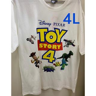 トイストーリー(トイ・ストーリー)のトイストーリー4 メンズ tシャツ  4L(Tシャツ/カットソー(半袖/袖なし))