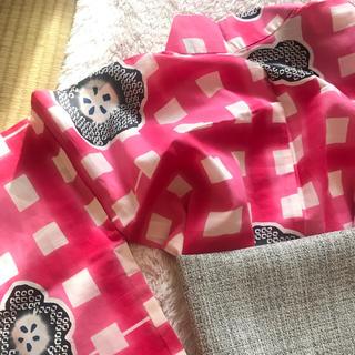 ツモリチサト(TSUMORI CHISATO)の夏物値下げ↓ツモリチサト 浴衣 ピンクの格子柄(浴衣)