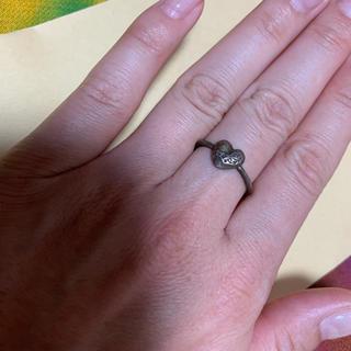 クロムハーツ(Chrome Hearts)のクロムハーツ ハート 指輪(リング(指輪))